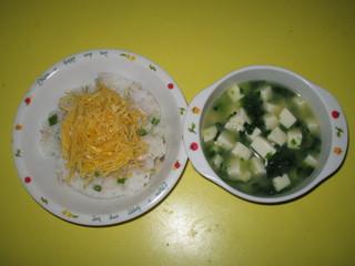 ちらし寿司&味噌汁