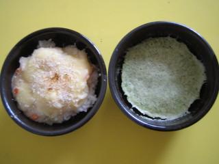 ドリア&蒸しパン