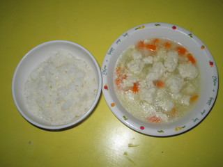 豆腐だんごスープ
